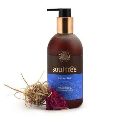 Buy SoulTree Rose & Vetiver Shower Gel