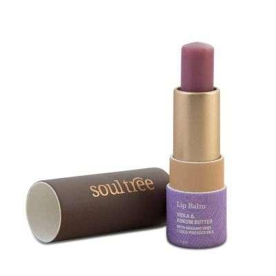 Buy SoulTree Viola & Kokum Butter Lip Balm