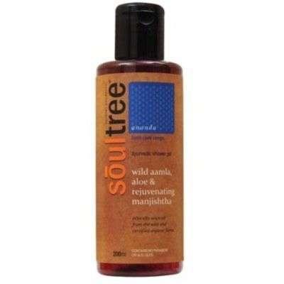 Buy SoulTree Wild Amla Aloe & Rejuvenating Manjishtha Shower Gel