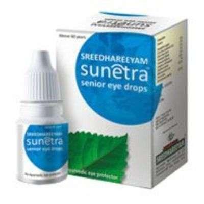 Buy Sreedhareeyam Ayurvedic Sunetra Senior Eye Drops