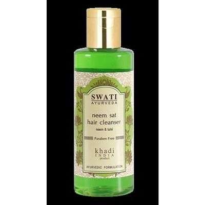 Buy Swati Ayurveda Neem Sat Hair Cleanser