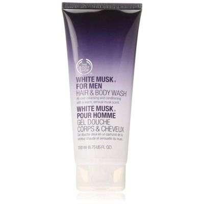 Buy The Body Shop White Musk For Men Hair & Body Wash