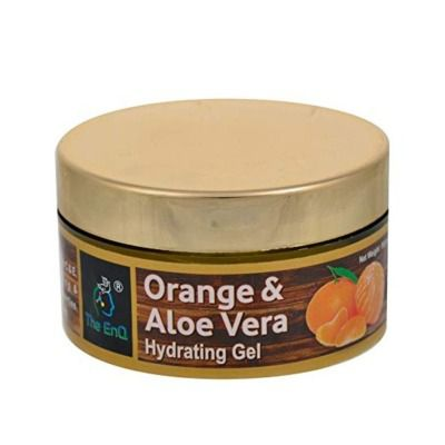 Buy The EnQ Orange and Aloevera Hydrating and Refreshing Facial Gel