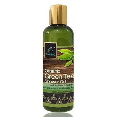 Buy The EnQ Organic Green Tea Shower Gel