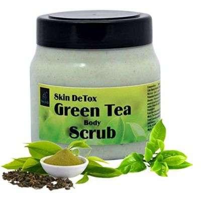 Buy The EnQ Skin DeTox Green Tea Body Scrub