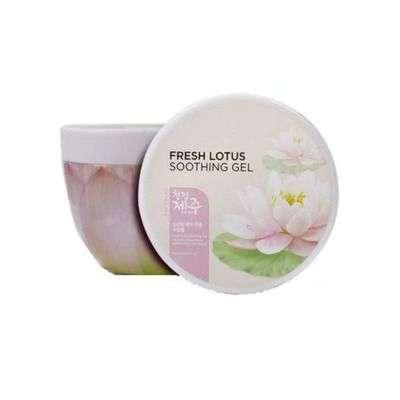 Buy The Face Shop Fresh Jeju Lotus Soothing Gel