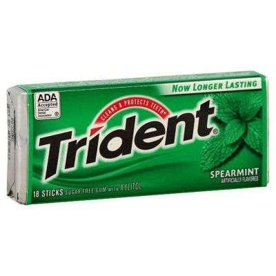 Buy Trident Sugar Free Gum, Spearmint