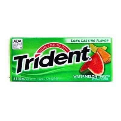 Buy Trident Sugar Free Gum, Water melon twist