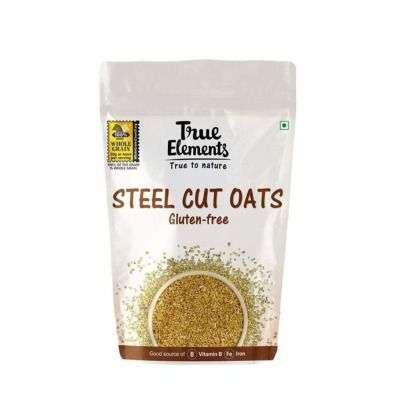 Buy True Elements Gluten - Free Steel - Cut Oats