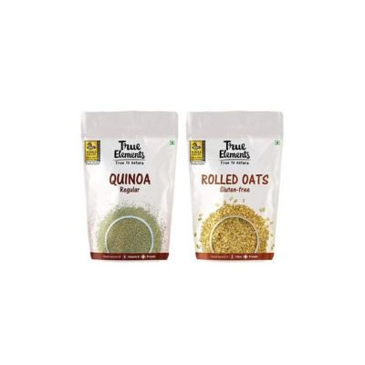 True Elements Healthy Breakfast Combo (Quinoa with Rolled Oats)