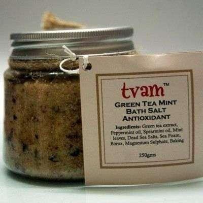 Buy Tvam Bath Salt - Green Tea Mint