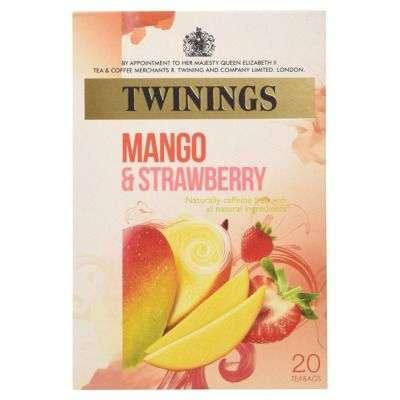 Buy Twinings Mango and Strawberry Tea