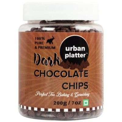 Buy Urban Platter Dark Chocolate Chips