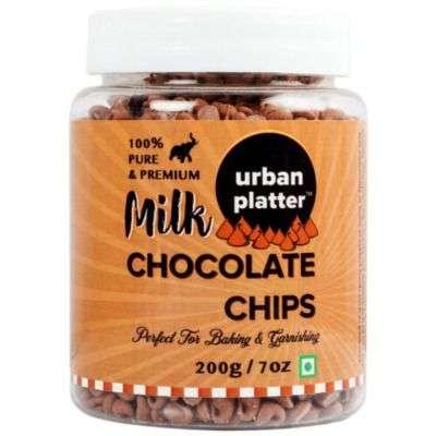 Buy Urban Platter Milk Chocolate Chips