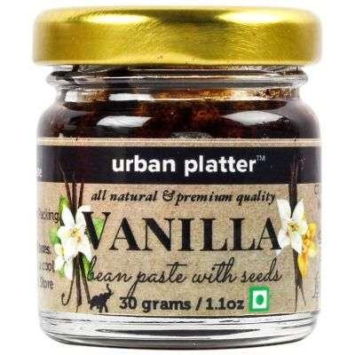 Buy Urban Platter Pure Vanilla Bean Paste (with Vanilla Seeds)