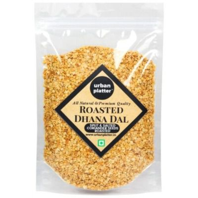 Buy Urban Platter Roasted Dhana Dal (Roasted Split Coriander Seeds)