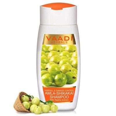Buy Vaadi Herbal Amla Shikakai Shampoo - Hairfall and Damage Control