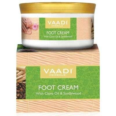 Buy Vaadi Herbals Foot Cream, Clove and Sandal Oil