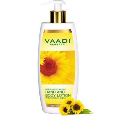 Buy Vaadi Herbals Hand and Body Lotion with Sunflower Extract