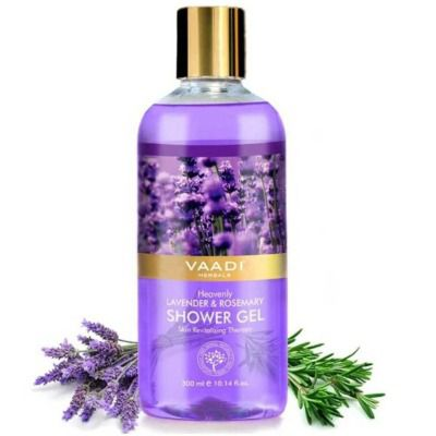 Buy Vaadi Herbals Heavenly Lavender and Rosemarry Shower Gel