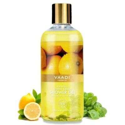 Buy Vaadi Herbals Refreshing Lemon and Basil Shower Gel