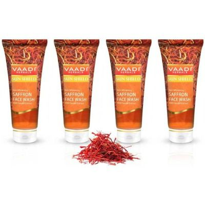 Buy Vaadi Herbals Skin Whitening Saffron Face Wash with Sandal Extract