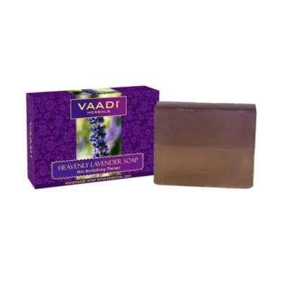 Vaadi Herbals Super Value Heavenly Lavender Soap with Essential Oils