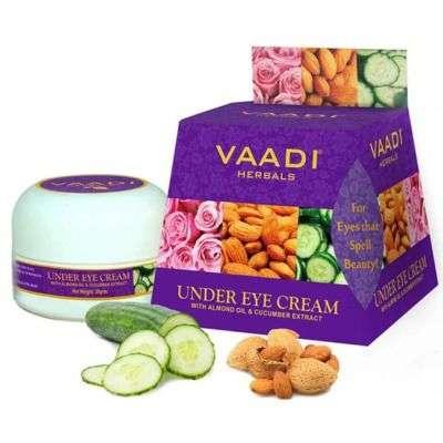 Buy Vaadi Herbals Under Eye Cream - Almond Oil and Cucumber extract