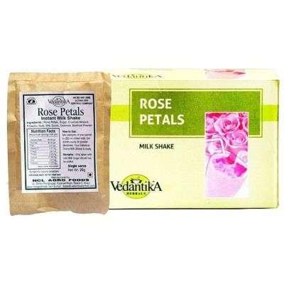 Buy Vedantika Instant Rose Petals Milk Shake