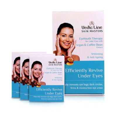 Vedic Line EyeYouth Therapy for Under Eyes Kit ( Small )