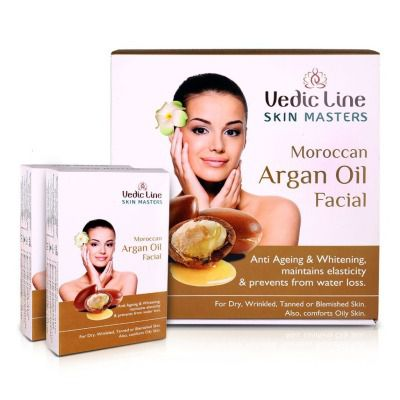 Vedic Line Moroccan Argan Oil Facial Kit ( Small )