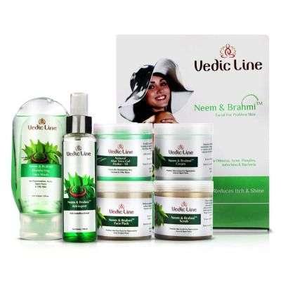 Buy Vedic Line Neem Brahmi Facial Kit ( Small )