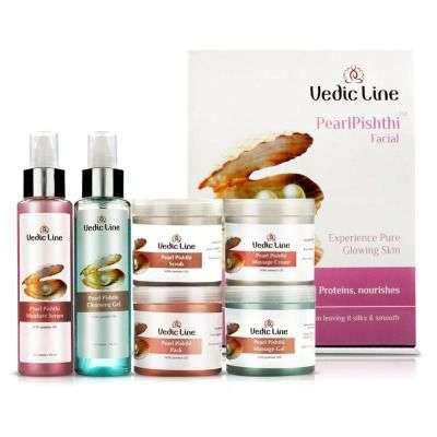 Buy Vedic Line Pearl Pishthi Facial Kit ( Small )