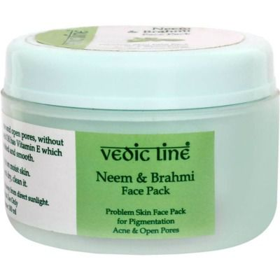 Buy Vedicline Neem and Brahmi Face Pack