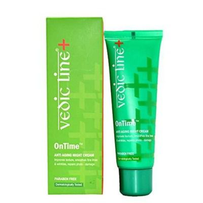 Buy Vedicline Ontime Anti Ageing Night Cream