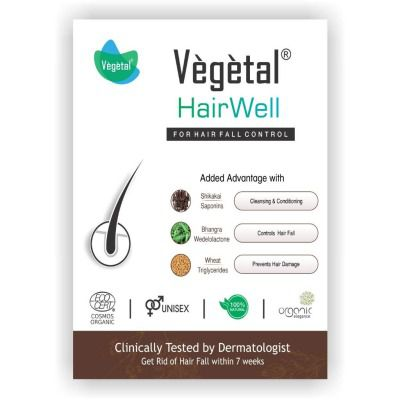Buy Vegetal HairWell - An Hair Fall Treatment and Regrowth Product