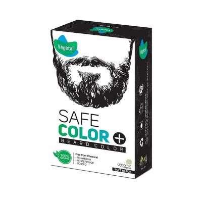 Buy Vegetal Organic Beard Hair Dye for Men - Black