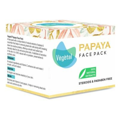 Buy Vegetal Papaya Face Pack