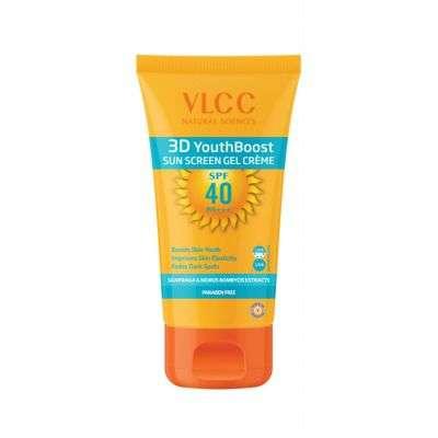 Buy VLCC 3D Youth Boost Sun Screen Gel Creme SPF 40 Pa +++