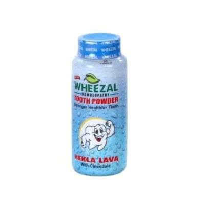 Buy Wheezal Heckla Lava with Calendula Tooth Powder