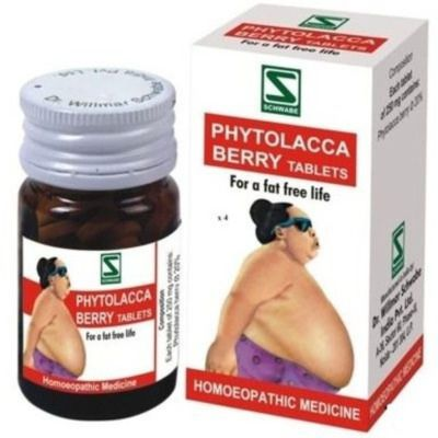 Buy Willmar Schwabe India Phytolacca Berry Tablets