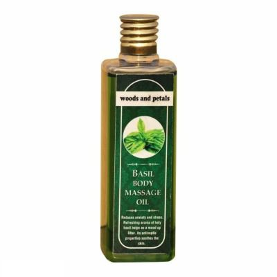 Buy Woods and Petals Basil Body Massage Oil