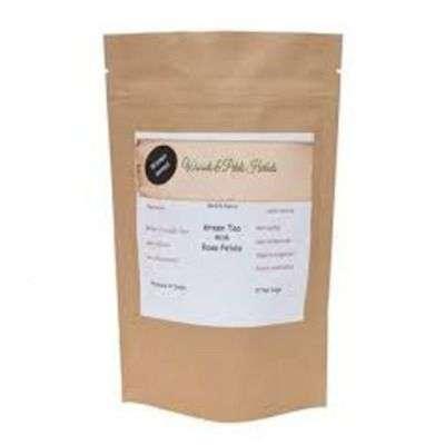 Buy Woods And Petals Darjeeling Green Tea With Arjun Bark Ayurvedic Herb