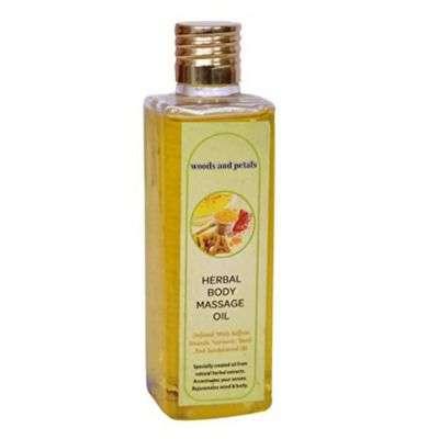 Buy Woods and Petals Herbal Body Massage Oil