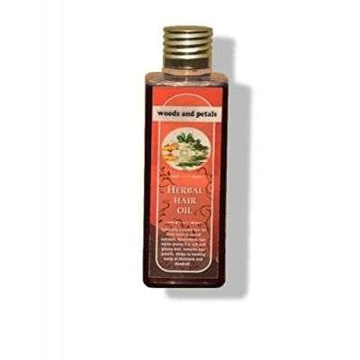 Buy Woods and Petals Herbal Hair Oil