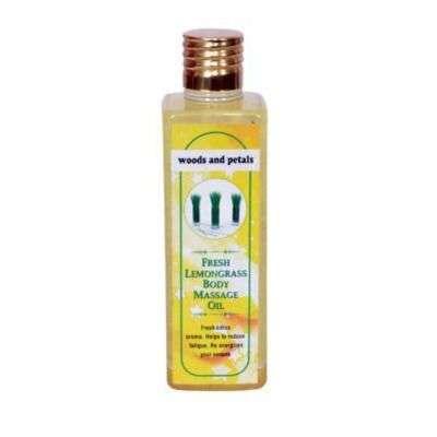 Buy Woods and Petals Lemongrass Body Massage Oil