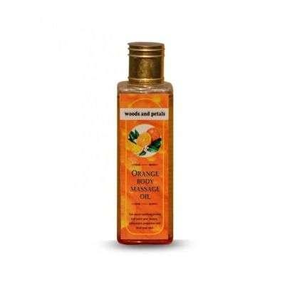Buy Woods and Petals Orange Body Massage Oil