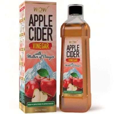 Buy Wow Apple Cider Vinegar - Pack Of 2