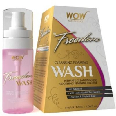 Buy Wow Freedom Intimate Cleansing Foam Wash for Women