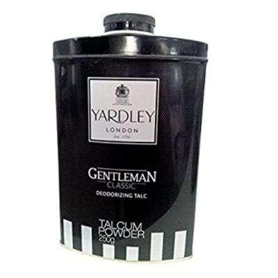 Buy Yardley Gentleman Classic Deodorizing Talc